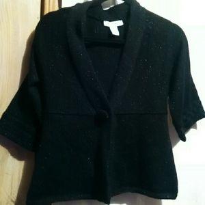 White House Black market sparkle design sweater
